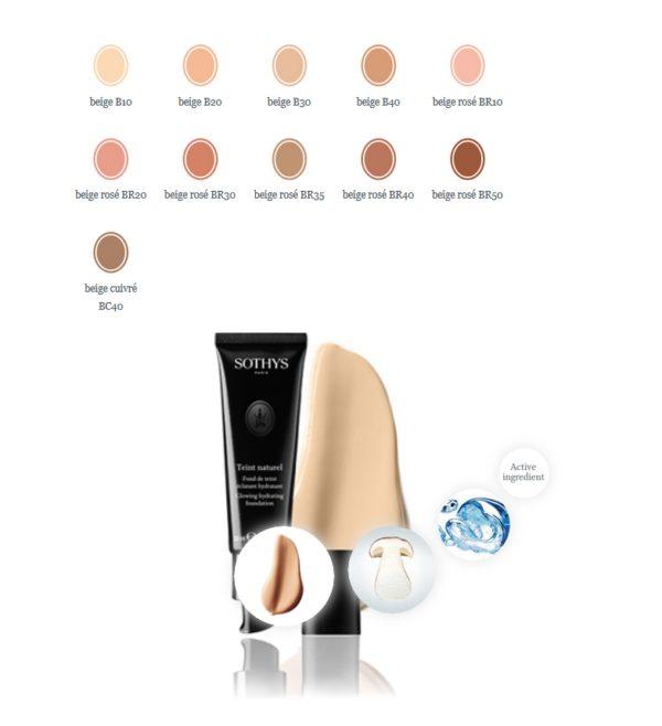 Sothys Maquillage-Teint naturel- fond de teint éclatant hydratant SOTHYS®