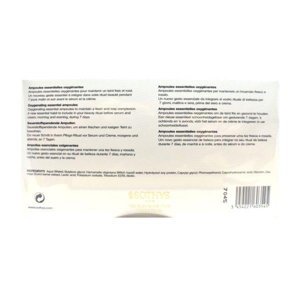 Sothys Visage-Ampoules essentielles oxygénantes SOTHYS®