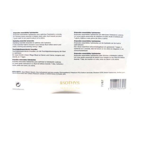 Sothys Visage-Ampoules essentielles hydratantes SOTHYS®