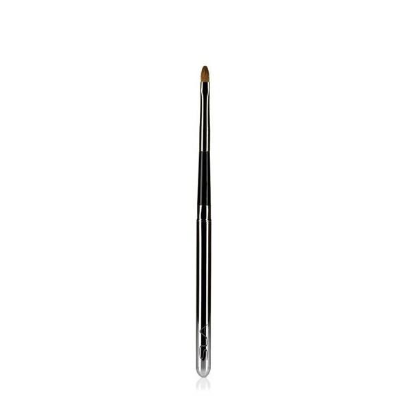 Pinceaux lèvres-Pinceau lèvres chrome rétractable SLA Paris