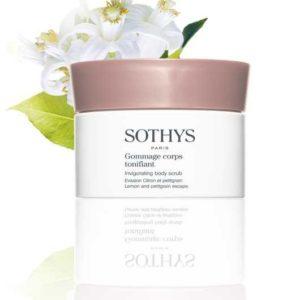 Boutique Sothys-Gommage corps tonifiant Citron et Petitgrain SOTHYS®
