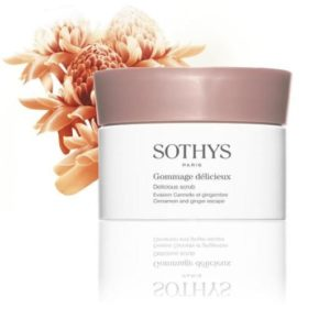 Sothys Corps-Gommage délicieux Cannelle Gingembre SOTHYS®