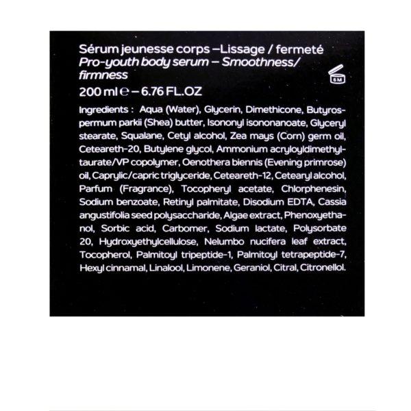 Boutique Sothys-Sérum jeunesse corps / lissage - fermeté SOTHYS®