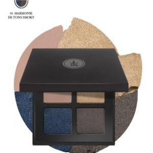 Boutique Sothys-Ombre palette yeux 4 couleurs, n°50 tons smocks SOTHYS®