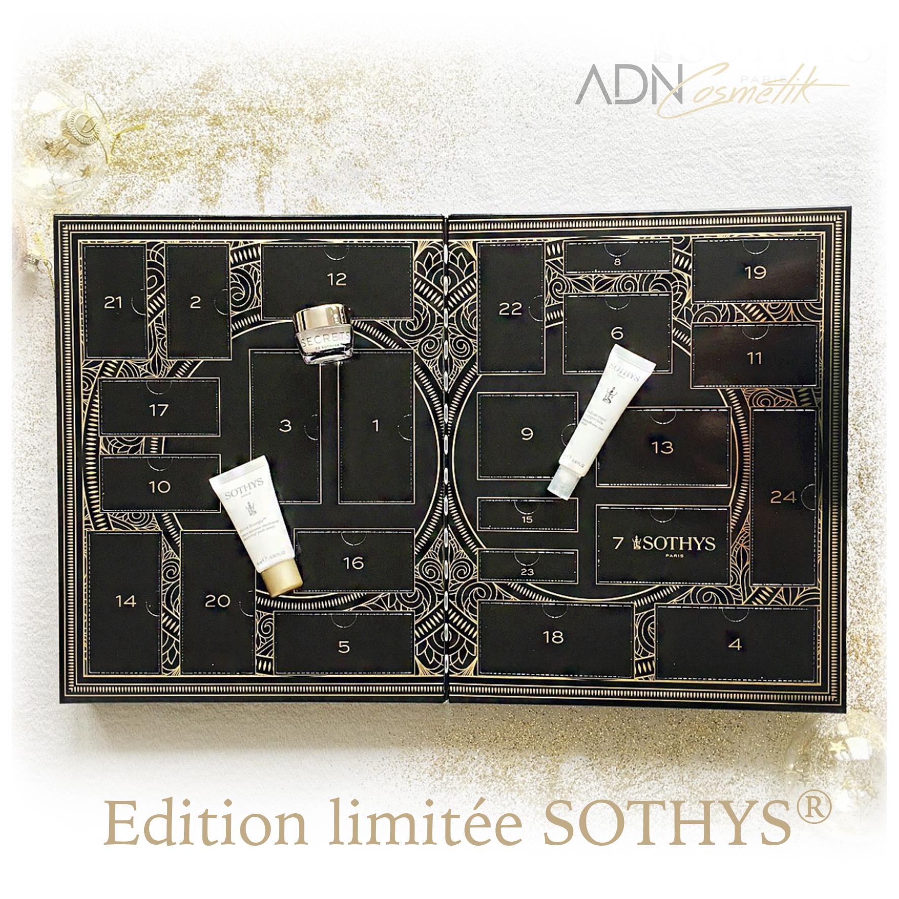 Calendrier de l'Avent SOTHYS® Noël   ADN Cosmetik